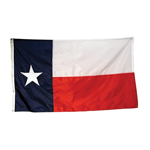Americas Flag Company SF3X5NOTX1 3-Foot by 5-Foot Nylon Texas State Flag with Appliqued Star and Sewn Components