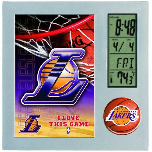 NBA Los Angeles Lakers Digital Desk Clock