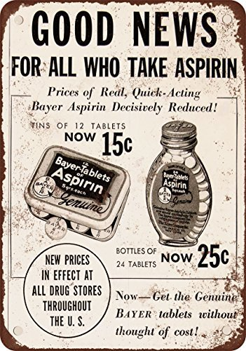 1934-bayer-aspirin-vintage-look-reproduction-metal-signs-12x16-inches