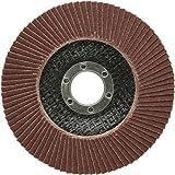 10 Stück SBS Fächerscheiben 115 mm / Korn 80 Braun Schleifscheiben Schleifmop