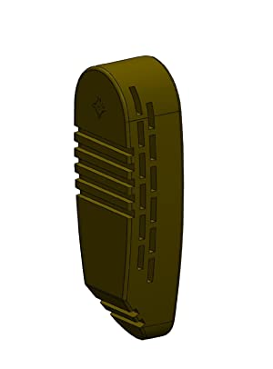Missouri Tactical Products LLC ARecoil Pad Snap-On Recoil Pad for 6-Position Adjustable Stocks (FDE) (Color: FDE)