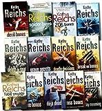 Kathy Reichs Temperance Brennan Collection Kathy Reichs 13 books Set (Devil Bones, 206 Bones,(Monday Mourning: The new tempe brennan novel, Fatal Voyage, Deja Dead, Bones to Ashes, Deadly Decisions, Death Du Jour, Break No Bones, Bare Bones, Grave Secret
