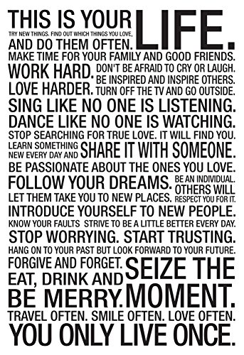 This Is Your Life Motivational
