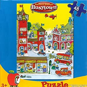 Richard Scarry's Busytown: Town Square 48 Piece Puzzle