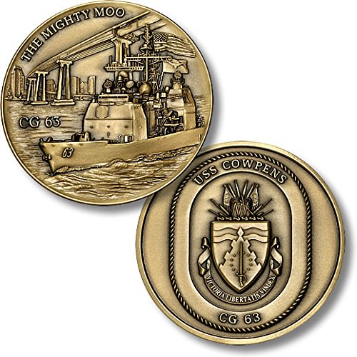 The Mighty Moo - USS Cowpens Challenge Coin