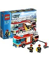 Lego City - 60002 - Jeu de Construction - Le Camion de Pompier