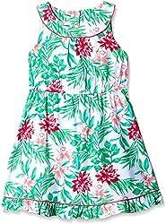 Nautica Kids Girls' Casual Dress (NBG0143Q330_Light Green_3 - 4 years)
