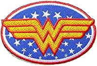 Wonder Women Superhero Comics Cartoon Logo Kid Baby Girl Jacket T shirt Patch Sew Iron on Embroidered Symbol Badge Cloth Sign Costume By Prinya Shop by PRINYA SHOP