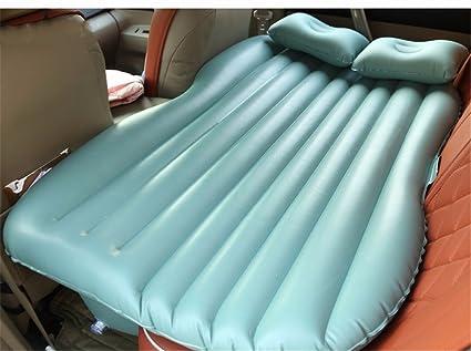 Lit de voiture épais / voiture lit / berline gonflable arrière lit de choc de voiture commune / coussin de sécurité pour adultes, TPU vert