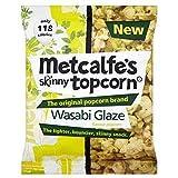 Metcalfe's Skinny Topcorn Popcorn - Wasabi Glaze (25g)