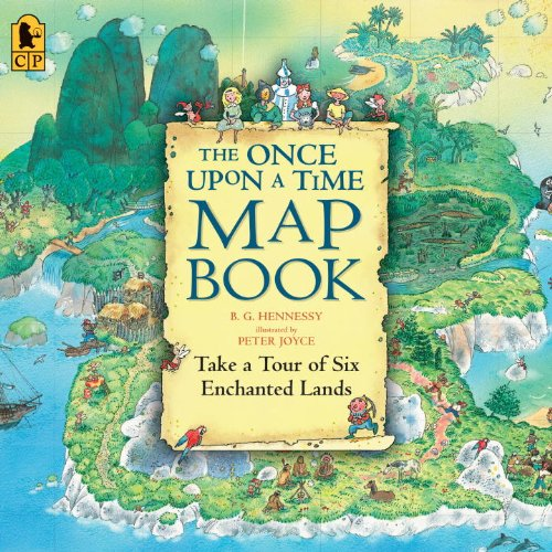 The Once Upon a Time Map Book: Take a Tour of Six Enchanted Lands