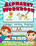 img - for Alphabet Workbook: Alphabet Writing Practice (Preschool Workbook for Writing & Drawing) book / textbook / text book