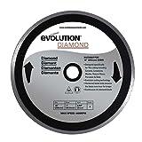 Evolution Power Tools 10BLADEDM Diamond Masonry Blade (Color: Gray|Grey, Tamaño: 10 Inch)