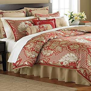 Martha Stewart Empire Court Queen 9 Piece Comforter Bed In A Bag Set