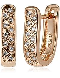 SIA Art Jewellery Clip-On Earrings For Women (Gold) (AZ3280)