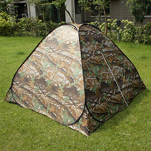 Gazelle Outdoors Camouflage Camping Hiking Easy Setup