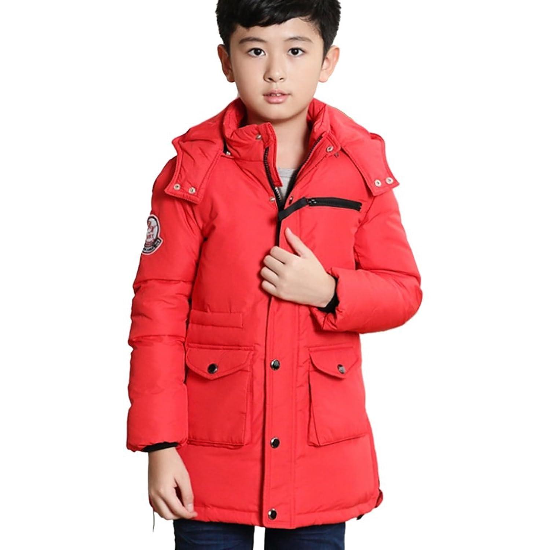 Moin Daunenjacke Kinder Jungen Winterjacke mit Fellkapuze Jacket Wintermantel Mantel Parka Outerwear Oberbekleidung Winter Kleidung günstig kaufen