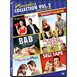 Back up Plan, the / Sex Tape - Vol / Bad Teacher (2011) / Playing for Keeps - Vol / Bounty Hunter, the (2010) / Ugly Truth, the - Vol - Set