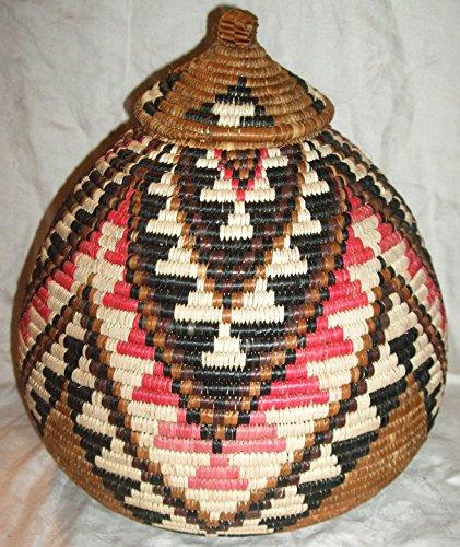 New Hand Made African Ukhamba Basket