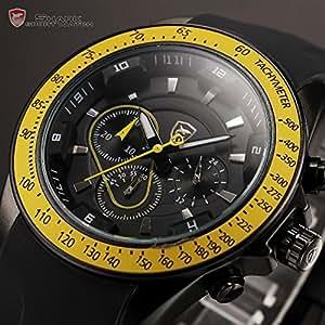 Montre Homme Wrist Men Quartz Sport Watch: Pretty Birdy: Watches