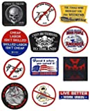 Hardhat Sticker Mix #06- Best Sellers Pack- 12 Stickers Total