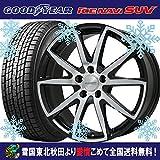 【18インチ】フォード エクスプローラー用 スタッドレス 245/60R18 グッドイヤー アイスナビ SUV ユーロバーン STX(BP) タイヤホイール4本セット 輸入車