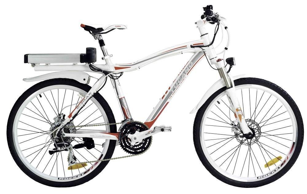 Bicicleta eléctrica de aspecto deportivo