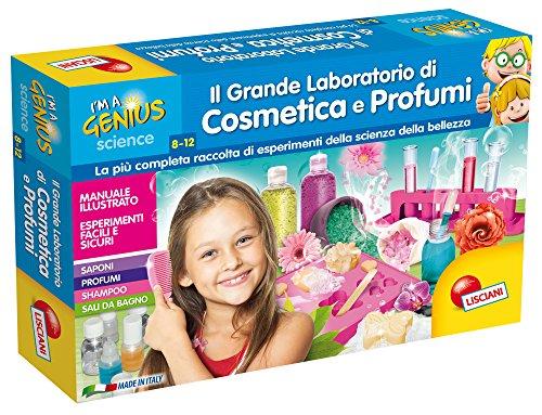 Lisciani Giochi 56385 - Piccolo Genio Il Grande Laboratorio di Cosmesi e Profumi