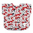 Bumkins Disney Baby Waterproof Junior Bib, Minnie Mouse Red (1-3 Years)