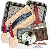 NEW 2016 OFFICIAL FAUX PAINTING KIT BY THE WOOLIE WITH BONUS ITEMS! (2 Little Woolies, 2 Tool Parking Trays & DVD)