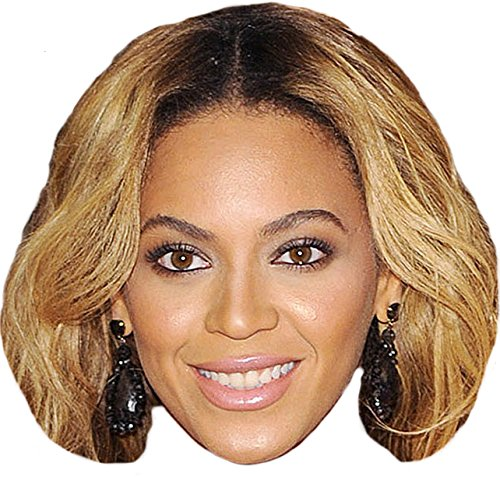 Beyonce Knowles Mask, Cardboard Face and Fancy Dress Mask (Face Masks Fancy Dress)