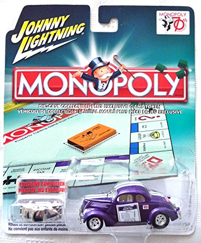 MONOPOLY JOHNNY LIGHTNING '37 FORD COUPE