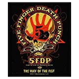 FIVE FINGER DEATH PUNCH FIVE FINGER DEATH PUNCH WAY OF THE FIST Patch