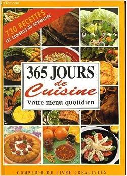 365 jours de cuisine patrice dard livres