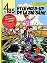 Les 4 as, tome 22 : Les 4 as et le hold-up de la Big Bank par Chaulet