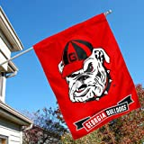 University of Georgia Bulldogs House Flag at Amazon.com