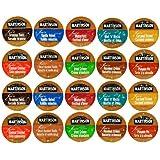 20-Count Flavored Coffee Single Serve Cups Sampler of Martinson Joe's Coffee