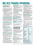 Mac OS X Yosemite Introduction Quick Reference Guide (Cheat Sheet of Instructions, Tips & Shortcuts - Laminated Guide)