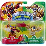 Figurine Skylanders : Swap Force - Grilla Drilla + Fire Kraken