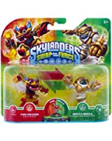 Figurine Skylanders : Swap Force - Grilla Drilla + Fire Kraken