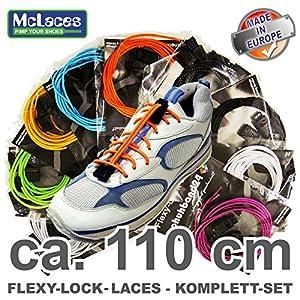 Flexy-Lock-Laces for Kid´s, Schnellschnürsystem für Kinder (blau)