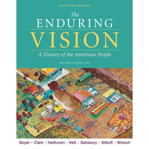 apush enduring vision chapter 1 outline The chapters for our textbook read them and complete your chapter outlines the enduring vision 5th identify terms apush enduring vision 7e chapter 1.