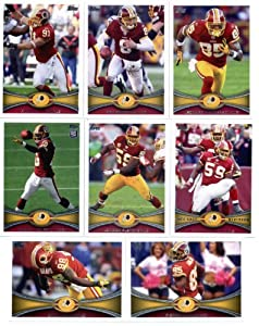 2012 Topps Washington Redskins NFL Team Set (Sealed) - 14 cards with Robert Griffin... by Topps