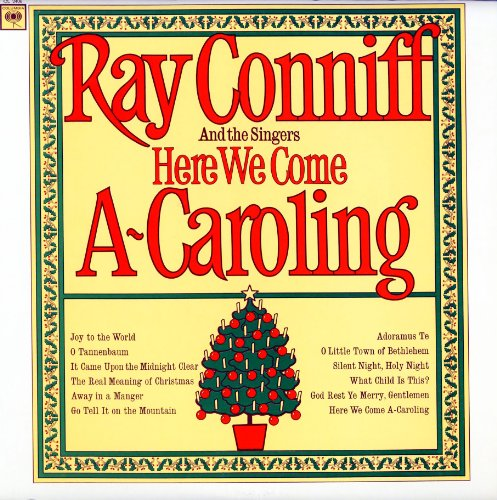 Audio CD. Here We Come A-Caroling. Ray Conniff and the Singers. (CL2406)