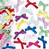 Self-Adhesive Satin Ribbon Bows - Pack of 72