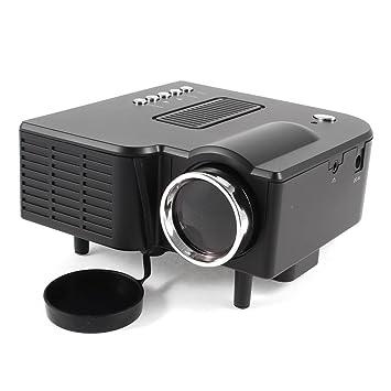 20-80 pouces LED Video Movie Game Projecteur Haut-parleur noir