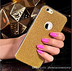 Darrel Apple iphone 5s soft sparkle Glittering GOld back cover