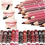 Set of 12pcs Girl's Pro Lipliner Wate...