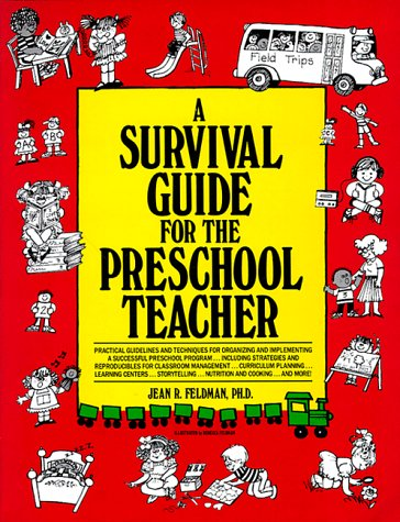 A-SURVIVAL-GUIDE-FOR-PRE-SCHOOL-TEACHER-By-Jean-R-Feldman-Excellent-Condition