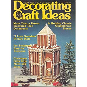 Craft Ideas Sell on Decorating   Craft Ideas December 1978  9   Evelyn Brannon  Amazon Com